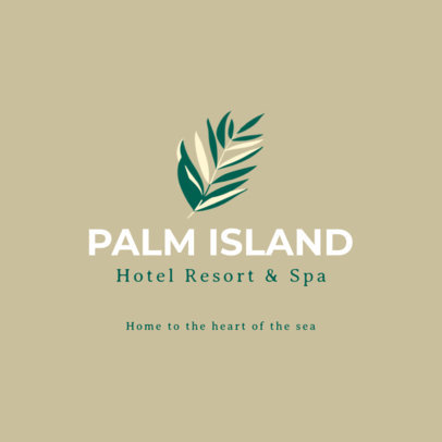 Resort and Spa Logo Generator 1761d