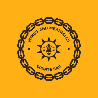 Logo Maker for a Sports Bar 1686b