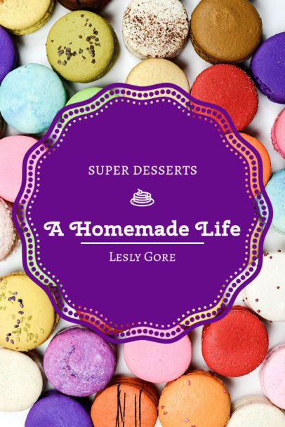 Book Cover Creator for a Dessert Recipe Book 924c