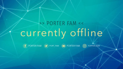 Twitch Banner Maker for a Currently Offline Banner 981b