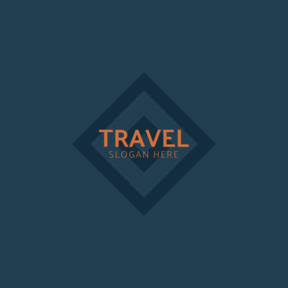 Simple Travel Logo Maker for Awesome Travel Agencies 1346a