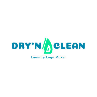 Laundry Logo Maker 1776