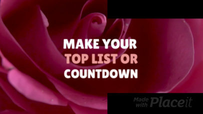 Slideshow Maker for a Countdown Video with Motion Graphics 435c 1146