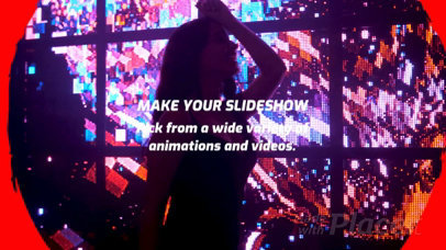Slideshow Maker for a Nightclub with Fun Animations 1148