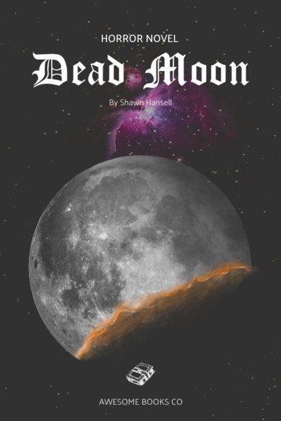 Space Horror Book Cover Designer 521e