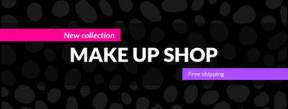 Simple Facebook Cover Template for Make Up Shops 1085d