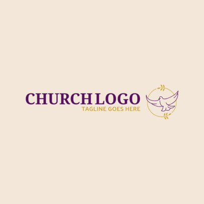 Logo Generator with Spiritual Imagery 1771b