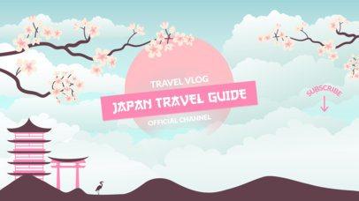 YouTube Banner Maker for Travel Vloggers 1077