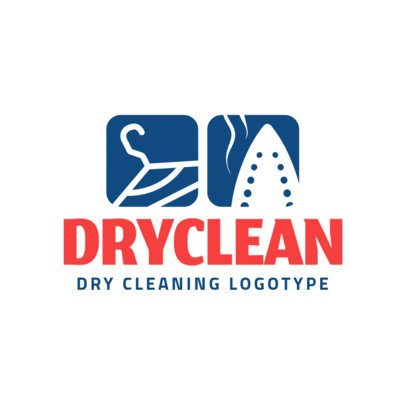 Dry Cleaning Logo Design Creator 1773a