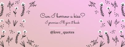 Cute Facebook Cover Maker for Inspiring Quotes 1087