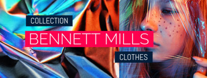 Facebook Cover Maker for a Clothing Brand Page 1084b