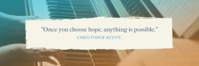 Twitter Header Maker with a Quote 1094b