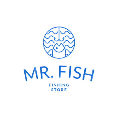 Fishing Logo Maker for a Fishing Store 1794a