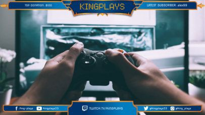 Twitch Overlay Maker for Gamers 1069b