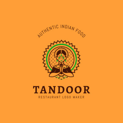 Logo Maker for an Indian Food Restaurant 1836
