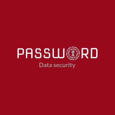Cyber Security Logo Maker for a Data Security Logo 1789d