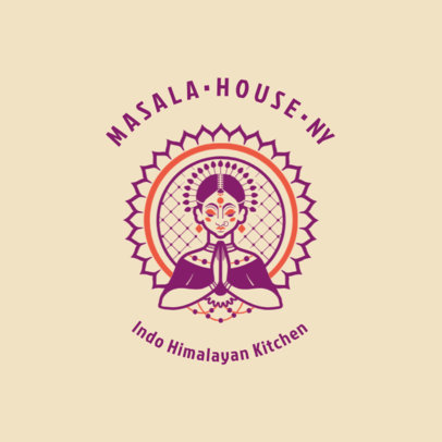 Indian Restaurant Logo Generator 1835d
