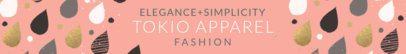 Etsy Shop Banner Maker for Clothing Brands 1117