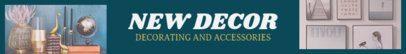 Etsy Banner Maker for Decor Shops 1120d