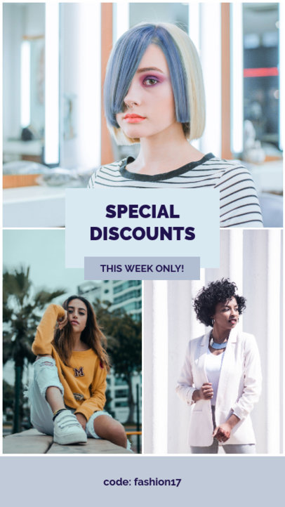 Instagram Story Generator for a Brand's Special Discounts 964d
