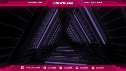 Twitch Overlay Template for Twitch Gamers 1070d