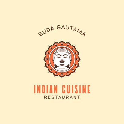 Indian Food Logo Maker  1836b