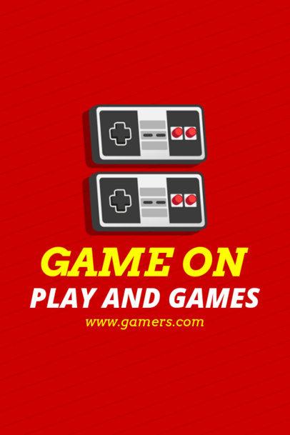 Pinterest Pin Maker with Gaming Joysticks 1124b