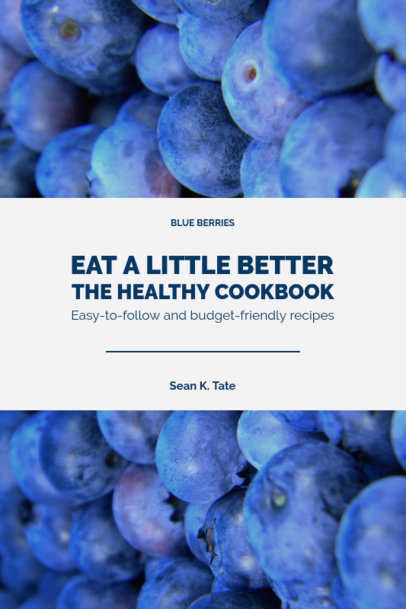 Cookbook Cover Maker for Healthy Cooking 922b
