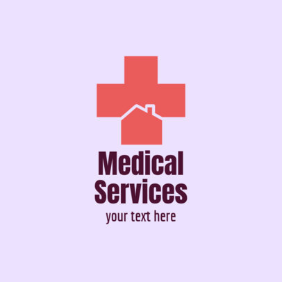 Home Healthcare Logo Template for Medical Services 1803a