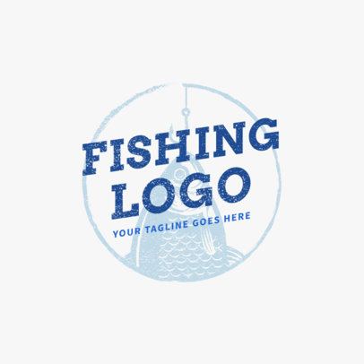 Fishing Hook Logo Template 1792d