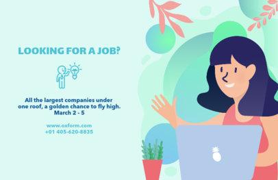 Online Flyer Template for HR Departments 729d