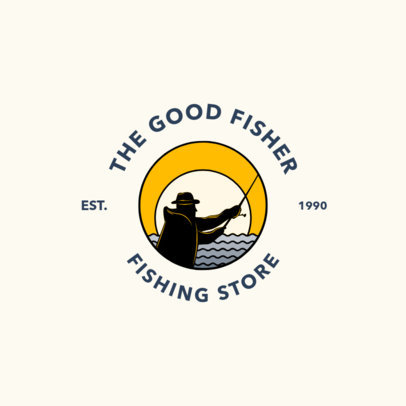 Fishing Store Logo Maker 1793b