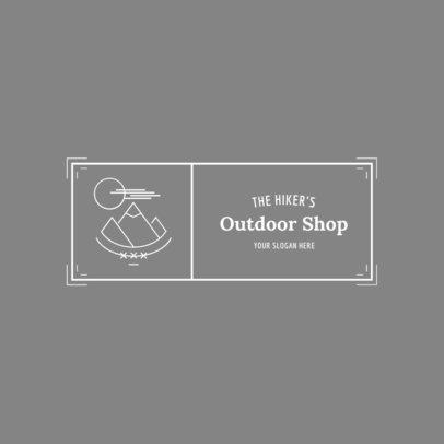 Badge Logo Maker for Outdoor Gear Stores 1784d