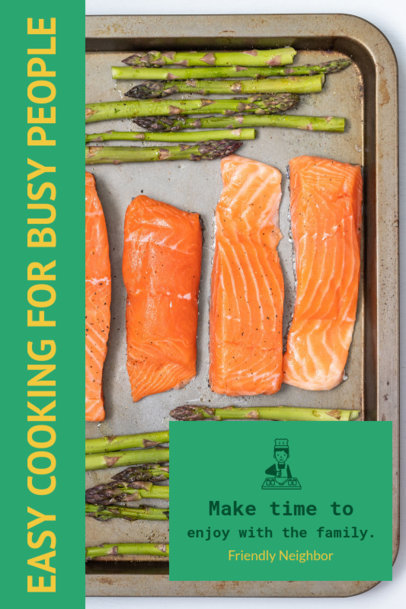 Book Cover Maker for an Easy Recipe Book 925d