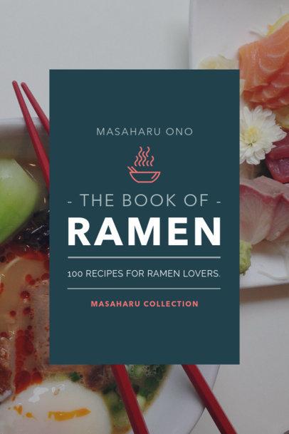 Ramen Recipe Book Cover Maker 920d