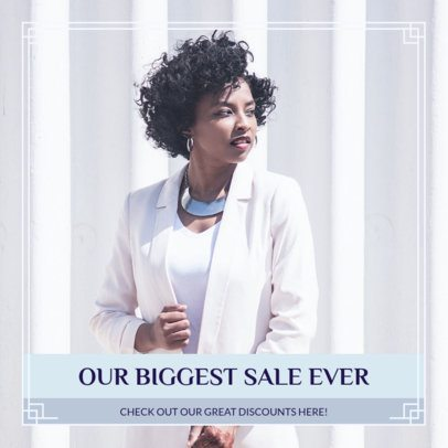 Chic Instagram Post Maker for a Big Sale 1102a