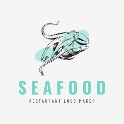 Seafood Logo Maker Featuring Fish Clipart 1798