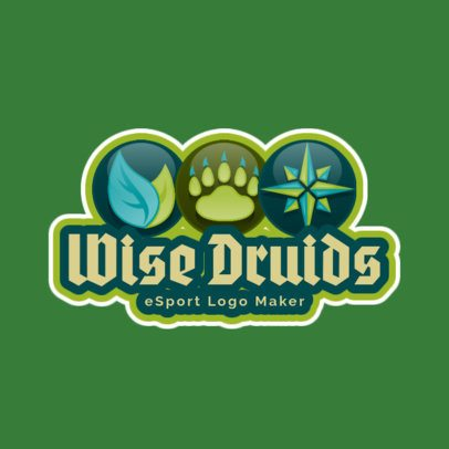 Gaming Logo Maker for an RPG Druids Team Logo 1742b