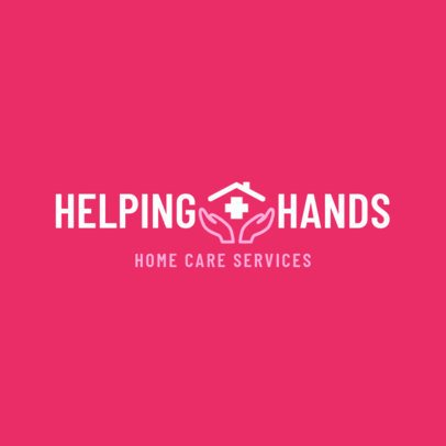 Home Health Care Logo Maker for Hospice Services 1804b