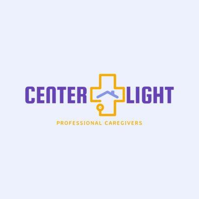 Home Health Care Logo Maker for Professional Caregivers 1804c