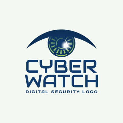 Digital Security Logo Maker 1790d