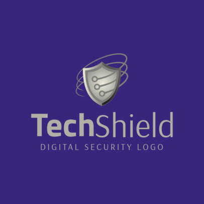 Tech Security Logo Maker 1790e