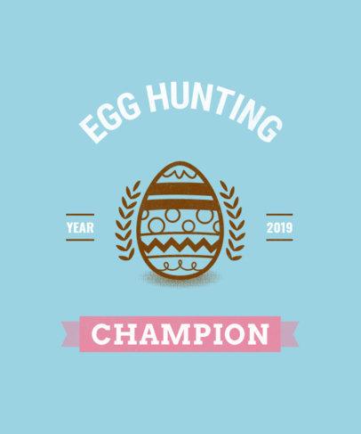 Tee Design Maker for an Easter Egg Hunt 484f