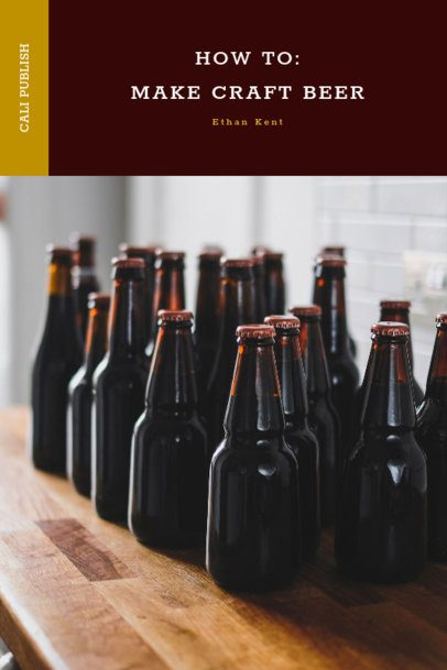 Book Cover Maker for a Craft Beer Book 919e