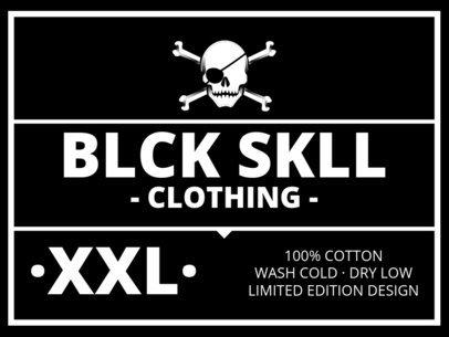 T-Shirt Label Design for Punk Clothing Brands 1144