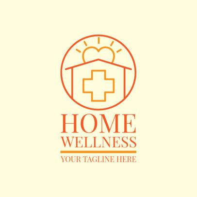 Home Health Care Logo Generator 1806b