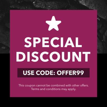 Code Coupon Design Maker for Exclusive Discounts 1030e
