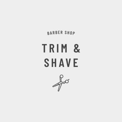 Barber Logo Creator 1471b