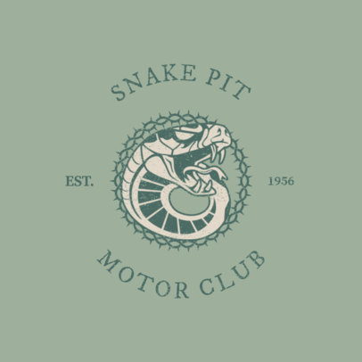 Logo Maker for a Biker Club or Bar 1765b