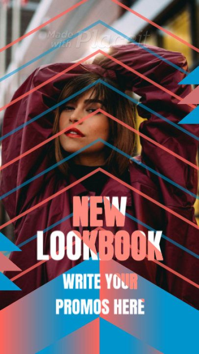 Instagram Story Video Maker for a Fashion Lookbook 1125
